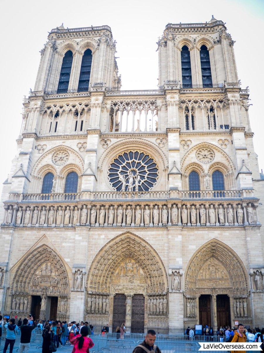 paris, france, notre dame cathedral