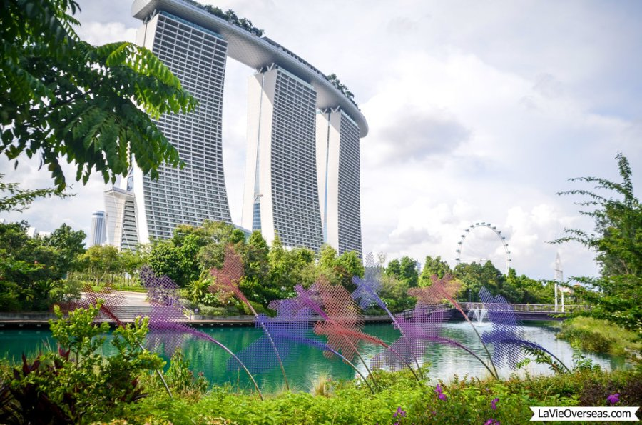 singapore, marina bay sands, gardens by the bay
