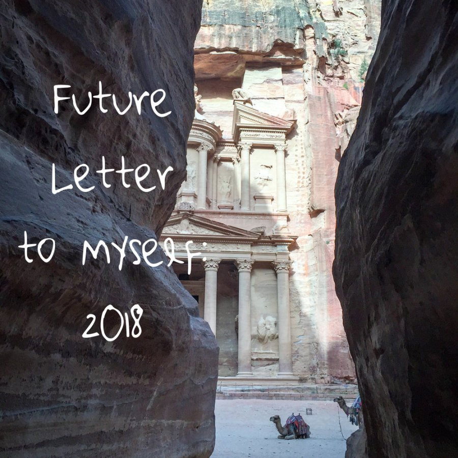 new year's resolutions, future letter to yourself, 2018 resolutions