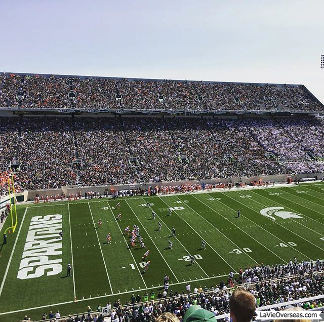 home leave, east lansing, michigan, michigan state, michigan state football, spartans