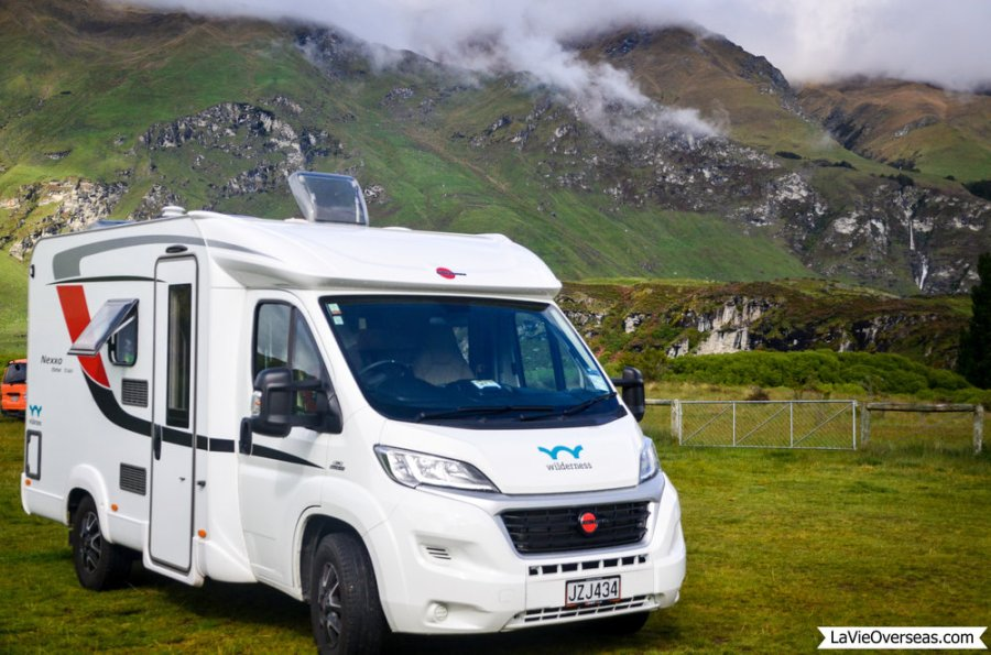 new zealand, south island, hiking, diamond lake, rocky mountain loop track, freedom camping, wilderness campervan