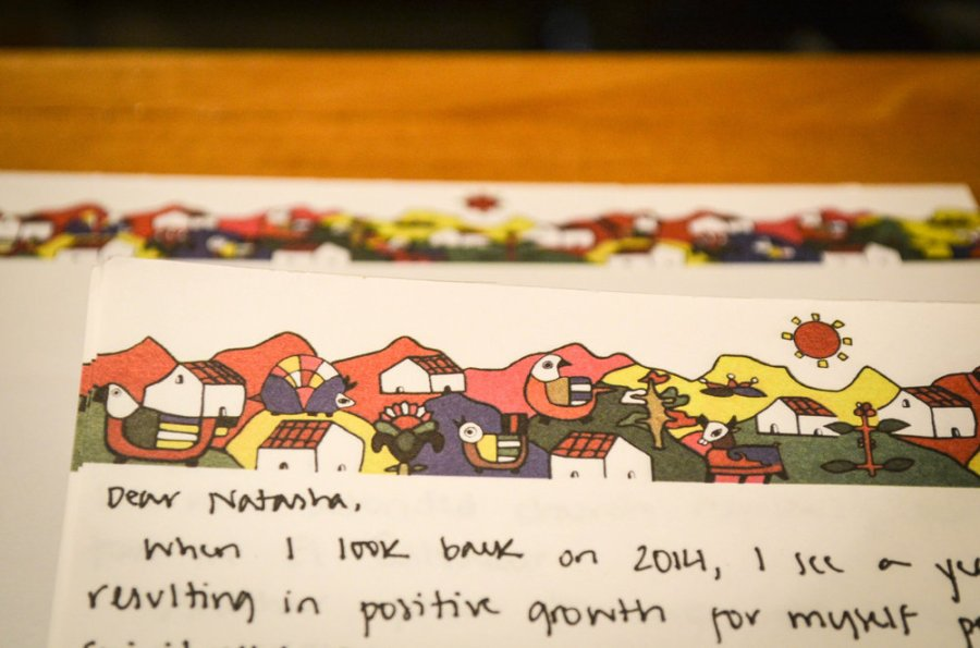 new year's resolutions, future letter to yourself, 2013 resolutions